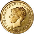 Proof Four Dollar Gold Pieces, 1880 $4 Coiled Hair, Judd-1660, Pollock-1860, Low R.7, PR62 NGC....