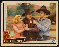 "The Fugitive Lot (Monogram, 1933). Lobby Cards (2) (11"" X 14""). Western. ... (Total: 2 Items)"