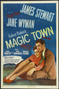 """Movie Posters:Comedy, Magic Town (RKO, 1947). One Sheet (27"""" X 41""""). Comedy.. ..."""