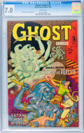 Golden Age (1938-1955):Horror, Ghost #5 (Fiction House, 1952) CGC FN/VF 7.0 White pages....