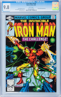 Iron Man #134 (Marvel, 1980) CGC NM/MT 9.8 White pages