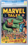 Golden Age (1938-1955):Horror, Marvel Tales #95 (Atlas, 1950) CGC FN+ 6.5 Off-white pages....
