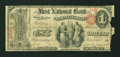 National Bank Notes:Pennsylvania, Pittsburgh, PA - $1 Original Fr. 380 The First NB of Birmingham Ch.# 926. ...