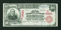 National Bank Notes:New Mexico, Lake Arthur, NMT - $10 1902 Red Seal Fr. 615 The First NB Ch. # (W)8584. ...