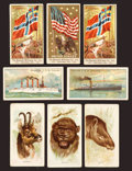 "Non-Sport Cards:Lots, 1900's-1910's ""E"" Caramel Group of (21). ..."