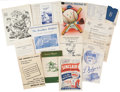 Baseball Collectibles:Publications, Collection of Assorted Dodgers Publications with Signatures. ...