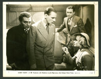 "Secret Agent (Gaumont, 1936). Front of House Still Set of 9 (8"" X 10""). Hitchcock. ... (Total: 9 Items)"