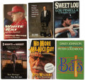 Autographs:Others, Baseball Managers Signed Books Lot of 6. ...