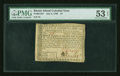 Colonial Notes:Rhode Island, Rhode Island July 2, 1780 $7 PMG About Uncirculated 53 EPQ....