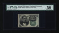 Fractional Currency:Fifth Issue, Fr. 1264 10¢ Fifth Issue PMG Choice About Unc 58....