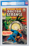 Silver Age (1956-1969):Horror, Strange Tales #164 (Marvel, 1968) CGC NM- 9.2 Off-white to whitepages....