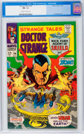 Silver Age (1956-1969):Horror, Strange Tales #156 (Marvel, 1967) CGC NM- 9.2 Off-white to whitepages....