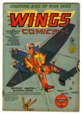 Golden Age (1938-1955):War, Wings Comics #3 (Fiction House, 1940) Condition: VG+....