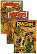 Golden Age (1938-1955):War, Rangers Comics Group (Fiction House, 1948-52) Condition: AverageVG.... (Total: 6 Comic Books)
