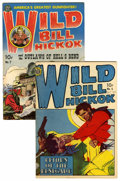 Golden Age (1938-1955):Western, Wild Bill Hickok #5 and 7 Group (Avon, 1950).... (Total: 2 ComicBooks)