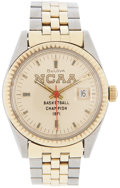 Basketball Collectibles:Others, 1971 John Wooden NCAA Championship Presentational Wristwatch....