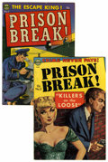 Golden Age (1938-1955):Crime, Prison Break #3 and 5 Group (Avon, 1951-52) Condition: Average FN-.... (Total: 2 Comic Books)