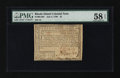 Colonial Notes:Rhode Island, Rhode Island July 2, 1780 $1 PMG Choice About Unc 58 EPQ....