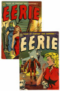 Golden Age (1938-1955):Horror, Eerie #13 and 15 Group (Avon, 1950-51).... (Total: 2 Comic Books)