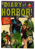 Golden Age (1938-1955):Horror, Diary of Horror #1 (Avon, 1952) Condition: FN+....