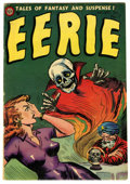 Golden Age (1938-1955):Horror, Eerie #17 (Avon, 1954) Condition: VG/FN....