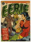 Golden Age (1938-1955):Horror, Eerie #5 (Avon, 1952) Condition: Apparent FN/VF....
