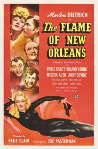 "The Flame of New Orleans (Universal, 1941). One Sheet (27"" X 41"") Style C"