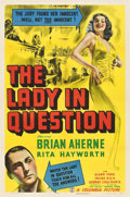 "Movie Posters:Drama, The Lady in Question (Columbia, 1940). One Sheet (27"" X 41"").. ..."