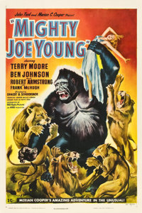 "Mighty Joe Young (RKO, 1949). One Sheet (27"" X 41"") Style C"