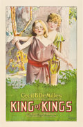 "Movie Posters:Historical Drama, King of Kings (Pathé, 1927). One Sheet (27"" X 41"").. ..."