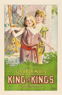 "King of Kings (Pathé, 1927). One Sheet (27"" X 41"")"