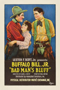 "Movie Posters:Western, Bad Man's Bluff (Associated Exhibitors, 1926). One Sheet (27"" X 41"").. ..."