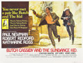 "Movie Posters:Western, Butch Cassidy and the Sundance Kid (20th Century Fox, 1969).British Quad (30"" X 40"").. ..."
