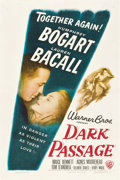 "Movie Posters:Film Noir, Dark Passage (Warner Brothers, 1947). One Sheet (27"" X 41"").. ..."
