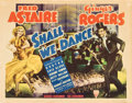"Movie Posters:Musical, Shall We Dance (RKO, 1937). Title Lobby Card and Lobby Card (11"" X14"").. ... (Total: 2 Items)"
