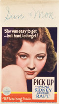 "Movie Posters:Crime, Pick Up (Paramount, 1933). Midget Window Card (8"" X 14"").. ..."