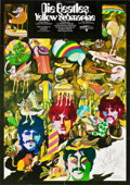 "Movie Posters:Animated, Yellow Submarine (United Artists, 1968). German A1 (23"" X 33"")....."