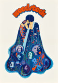 "Movie Posters:Rock and Roll, Woodstock (Warner Brothers, 1970). German A2 (16.5"" X 23"").. ..."