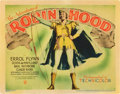 "Movie Posters:Adventure, The Adventures of Robin Hood (Warner Brothers, 1938). Title LobbyCard (11"" X 14"").. ..."