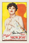 "Movie Posters:Musical, Show Boat (Universal, 1929). One Sheet (27"" X 41"") Helen MorganStyle.. ..."