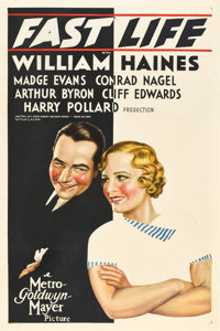 """Fast Life (MGM, 1932). One Sheet (27"""" X 41"""")"""