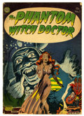Golden Age (1938-1955):Horror, The Phantom Witch Doctor #1 (Avon, 1952) Condition: GD+....