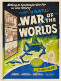 "Movie Posters:Science Fiction, The War of the Worlds (Paramount, 1953). Poster (30"" X 40"") StyleZ.. ..."