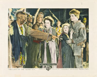 "The Last of the Mohicans (Associated Producers, Inc., 1920). Half Sheets (2) (22"" X 28""). ... (Total: 2 Items)"