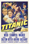 "Titanic (20th Century Fox, 1953). One Sheet (27"" X 41"")"
