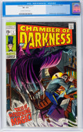 Silver Age (1956-1969):Horror, Chamber of Darkness #1 (Marvel, 1969) CGC VF+ 8.5 Off-white towhite pages....