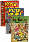 Golden Age (1938-1955):Funny Animal, Peter Rabbit Comics Group (Avon, 1940s-50s) Condition: AverageVG.... (Total: 13 Comic Books)