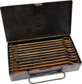 Military & Patriotic:WWI, Very Rare U.S. Issue, Squad Cleaning Kit for the M1911 Colt .45Caliber Automatic Service Pistol, Circa 1915....
