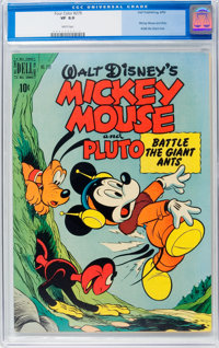 Four Color #279 Mickey Mouse (Dell, 1950) CGC VF 8.0 White pages