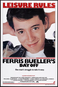 "Ferris Bueller's Day Off (Paramount, 1986). One Sheet (27"" X 41""). Comedy"